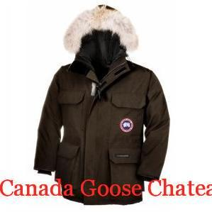 Canada Goose Chateau Parka Black Label Canada Goose Expedition Parka 4565m Brown