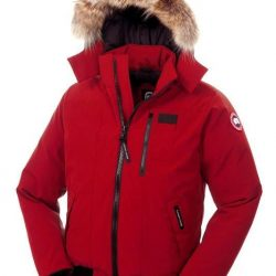 Canada Goose Jacket Advertisement Canada Goose Men Borden Bomber Red