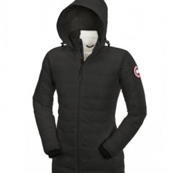Canada Goose Jackets Trend Canada Goose Camp Down Hooded Jacket Black