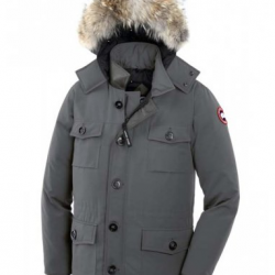 Canada Goose Outlet Betrouwbaar Canada Goose Banff Parka Mid Grey